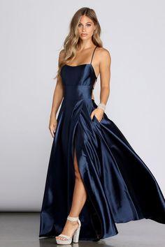 Pretty Prom Dresses, Grad Dresses, Satin Dresses, Ball Dresses, Beautiful Dresses, Ball Gowns, Formal Dresses, Party Dresses, Windsor Dresses Prom
