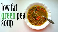 Green Pea Soup (Raw Till 4) - High Carb Vegan