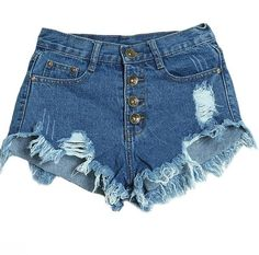 25447ee8ab44 NDUCJSI Hot Casual Cotton Short Jeans Plus Size Shorts Summer Women Pocket  Lady Low Waist Button Ripped Tassel Hole Denim Short