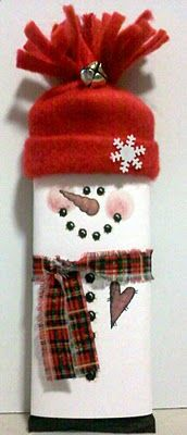 snowman candy bar wrapper