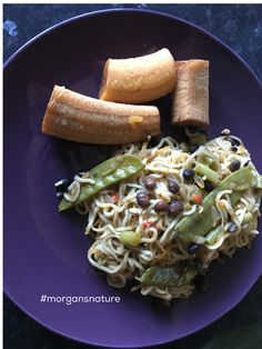 Wasn't really in a cooking mood today so I just whipped up a quick #sundaydinner A mixture of #noodles #boodles and #beansprouts with #mangetout #blackturtlebeans #gungopeas #scotchbonnet and a side of boiled #greenbanana 😋😋😋#vegan #homecooking  #healthychoices #healthymeal #madebyme #madefromscratch #morgansnature #foodgasm #foodlover #foodblogger #foodie #fitfood #freshfood #mycreations #nutrition #goodfood #eatclean #cleaneating #earthlydelights #meatfree
