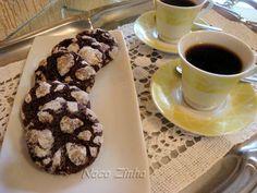 Cookies nevados (Chocolate-Espresso Snowcaps) » Naco Zinha
