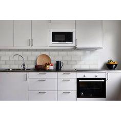 x Glass Peel & Stick Subway Tile Vanity Backsplash, Shower Backsplash, Kitchen Backsplash, Kitchen Cabinets, Peel And Stick Tile, Stick On Tiles, Smart Tiles, Tile Saw, Glass Subway Tile