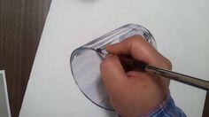 기초디자인 유리컵 채색2/2 realistic art glass cup drawing
