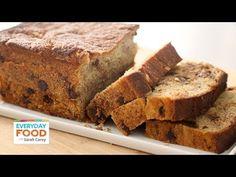 Chocolate Chip Banana Bread  - Everyday Food with Sarah Carey (+playlist)