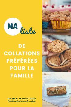 Les enfants ont besoin de manger des collations dans une journée. Voici plusieurs idées et recettes de collations à leur offrir.