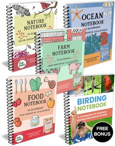 Nature Notebook - Companion to Nature Anatomy by Julia Rothman