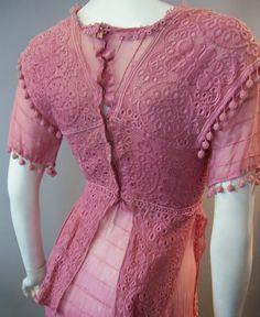 pink edwardian dress!