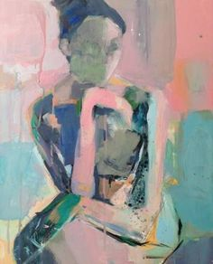 "Saatchi Art Artist Donna Weathers; Figurative Painting, ""Dotty Dreams"" #art"