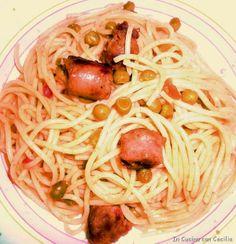 Ricetta con la pasta: spaghetti alla salsiccia
