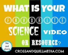 What is YOUR favorite Science Resource? See our HUGE list from www.crossandquillmedia.com.   Christian Homeschool Resources with Netflix, Amazon, You Tube, Roku, and MORE!