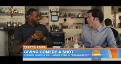 LeBron James On Giving Comedy A Shot With Bill Hader In His First Feature Film  http://theinsidedrop.com/lebron-james-on-giving-comedy-a-shot/