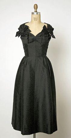 Cocktail Dress, Jacques Fath, 1957, The Metropolitan Museum of Art