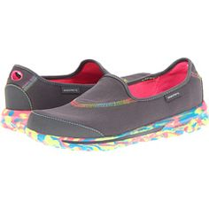 """Travel wardrobe must have - """"Go Walk"""" by Sketchers. A trip can be painful if your feet are not comfortable. These are the most comfy yet fashionable shoes ever."""