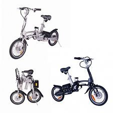 City Express Super Folding Lithium Electric Bicycle Bike Ebike Moped Scooter