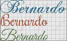 Bullet Journal, Bernardo, Alphabet, Cross Stitch Angels, Female Names, Hardanger, Names, Lyrics, Punto De Cruz