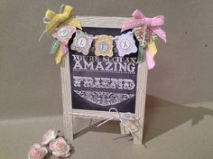 Little Chalkboard - Stampin' Connection