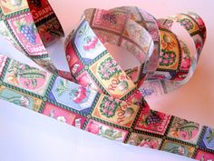 Seed Pack Market Cotton Ribbon Trim Multi 1 by PrimroseLaceRibbon, $3.00