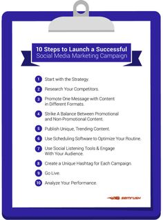 Use these 10 simple steps to craft a social media plan that will set up your social campaigns for success.
