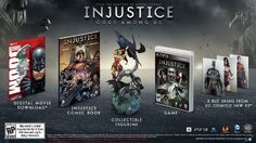 Injustice: Gods Among Us - Collector's Edition - Playstation 3 Warner Bros http://www.amazon.com/dp/B009NP20Z6/ref=cm_sw_r_pi_dp_SMtPvb134G1FA