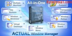 Actual Window Manager Registration Code Download: Actual Window Manager 8.9.1 crack: A Software Pack full of Windows Management Features. A Brief Introduction: Actual Window Manager 8 keygen is a management program that helps on managing and organizing Windows Desktop. It introduces Windows controls to manage as well as automatic general operations to work with Windows. There are some features such as keeping the Window to its actual size, sizing the frames Of Windows in an appropriate…