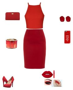 """party time this is a anther one"" by queenebitsam ❤ liked on Polyvore featuring beauty, Ally Fashion, Paule Ka, Jessica Simpson, Dolce&Gabbana, Casetify, Oscar de la Renta, Diane Von Furstenberg and Lime Crime"