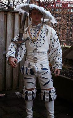 Renaissance Fair Costume, Renaissance Era, Medieval Costume, Medieval Armor, Historical Costume, Historical Clothing, Mens Garb, German Costume, Terra Nova