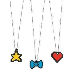 Digi Pixel Necklaces - OrientalTrading.com