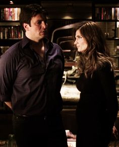Castle and Beckett. ABC promo