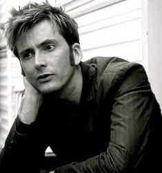 David Tennant Black And White