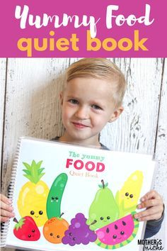 This is our newest Quiet Book. It's so great to help kids work with colors, hand-eye coordination and matching. They will love it!