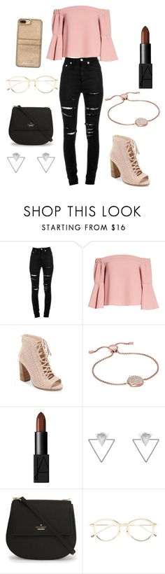 """""""#September 4, 2017"""" by zhimyahampton ❤ liked on Polyvore featuring Yves Saint Laurent, Topshop, Vince Camuto, Michael Kors, NARS Cosmetics, Eloquii, Kate Spade, Thom Browne and MICHAEL Michael Kors"""