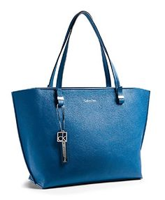 Calvin Klein Haley Tote Bag Handbag (Fresh Blue) ** Be sure to check out this awesome product.