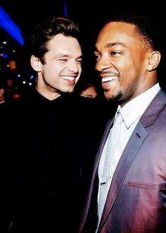 Sebastian Stan and Anthony Mackie