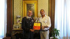 Napoli, il Gen. De Vita ricevuto Palazzo San Giacomo dal Sindaco de Magistris