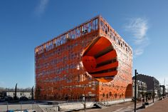 Architectural Photography: Lyon Confluence - Monolith - Manual Gautrand Architecture