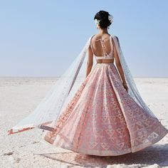15 Anita Dongre Lehengas For Spring Summer 2019 + PRICES - Indian designer outfits - Indian Fashion Dresses, Dress Indian Style, Indian Designer Outfits, Fashion Outfits, Outfit Essentials, Anita Dongre, Indian Lehenga, Lehenga Designs, Indian Wedding Outfits