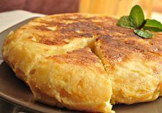 86 Tortilla Espanola(Spanish Egg and Patato Omlette) Photos Cream Soup Recipes, Custard Recipes, Omelettes, Breakfast Dishes, Breakfast Recipes, Cream Of Pumpkin Soup, Longest Recipe, 5 Ingredient Recipes, Gastronomia