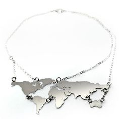 world necklace. Not that id wear it for fun... but would be appropriate at work