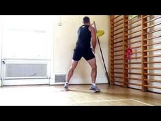 Alternating Barbell Throws - YouTube