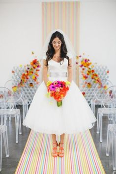 jasmine star photography - short wedding dress trends