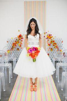 jasmine star photography - short wedding dress trends