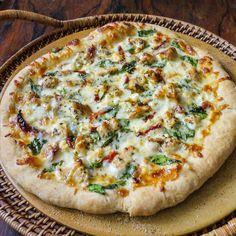 Herb Chicken Mediterranean Pizza | Tara's Multicultural Table