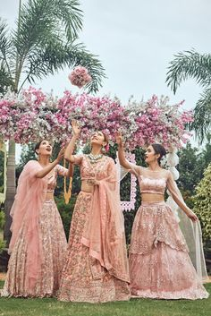 """""""In the cookie of life, friends are the chocolate chips."""" Book your bridesmaids style only at www.rentanattire.com or call us at 7722009477 to know more. #bridesmaidsgoals #bridemaids #rentanattire #rentdesignerwear #rentbridalwear #rentbridesmaidsoutfits #rentlehenga #lehengaonrent #gownsonrent #rentalfashion #fashiononrent #weddingbells #weddings #weddingnama #wedmegood"""
