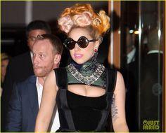 Lady Gaga in Aquilano.Rimondi