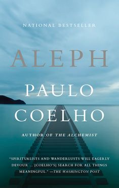Aleph by Paulo Coelho: In his most personal novel to date, internationally bestselling author Paulo Coelho returns with a remarkable journey of self-discovery. Like the main character in his much-beloved The Alchemist, Paulo is facing a grave crisis of faith. As he seeks a path of spiritual renewal and growth, his only real option is to begin again—to travel, to experiment, to reconnect with people and the landscapes around him.