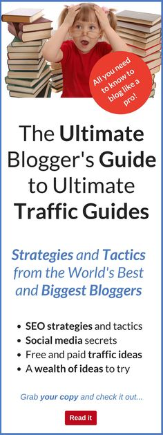 Hey...this is a fantastic resource if you are interested in blogging. We all need traffic for our blogs, and I found that this guide really provided a massive wealth of information on all aspects of traffic generation. You get the lowdown on everything fr