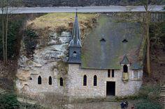 Iglesia en la montaña Luxemburgo