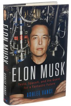 Elon Musk is the most daring entrepreneur of our time There are few industrialists in history who could match Elon Musk's relentless drive and ingenious vision. A modern alloy of Thomas Edison, Henry Ford, Howard Hughes, and Steve Jobs, Musk is th. Tesla Spacex, Elon Musk Spacex, Elon Musk Tesla, Biography Project, Biography Books, Howard Hughes, Henry Ford, Steve Jobs, Musica