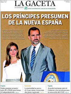 Los Titulares y Portadas de Noticias Destacadas Españolas del 19 de Noviembre de 2013 del Diario La Gaceta ¿Que le pareció esta Portada de este Diario Español?